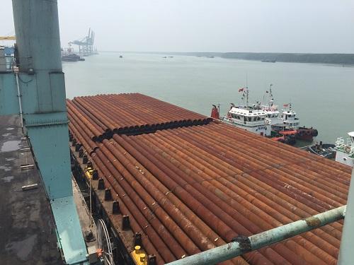 Steel Pipe Piles   Nippon Steel Spiral Pipe Vietnam Co , Ltd
